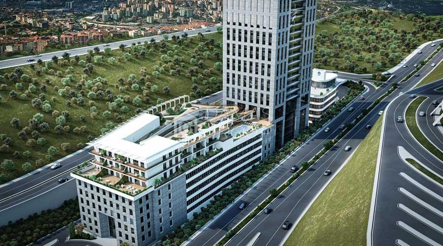 مجمع داماس 156 في اسطنبول  - صورة خارجية  06