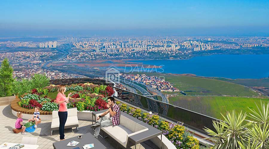 مجمع داماس 107 في اسطنبول  - صورة خارجية  06