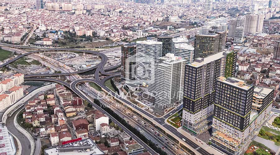 مجمع داماس 270 في اسطنبول  - صورة خارجية  06