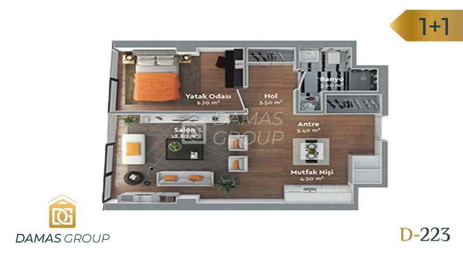 Damas Project D-223 in Istanbul - Floor Plan 04