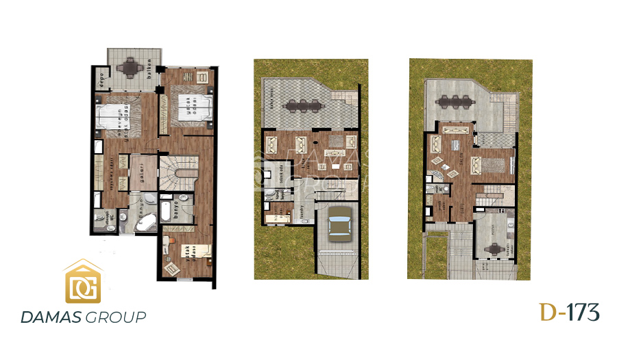 Damas Project D-173 in Istanbul - Floor Plan 01