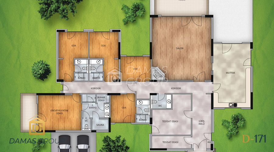 Damas Project D-171 in Istanbul - Floor Plan 01