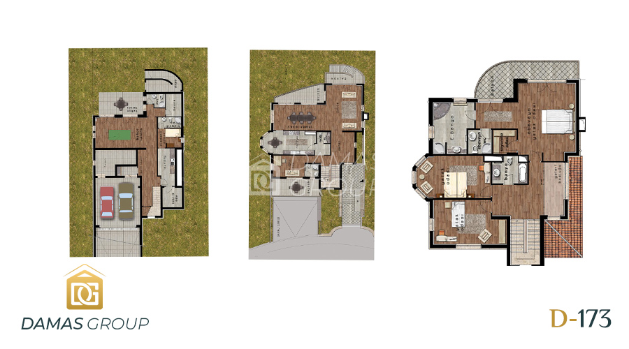 Damas Project D-173 in Istanbul - Floor Plan 02