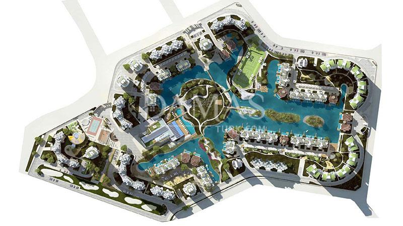مجمع مجموعة داماس 206 في بورصة - صورة المخطط 10