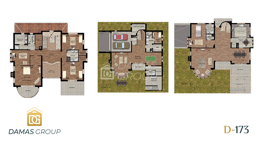 Damas Project D-173 in Istanbul - Floor Plan 04