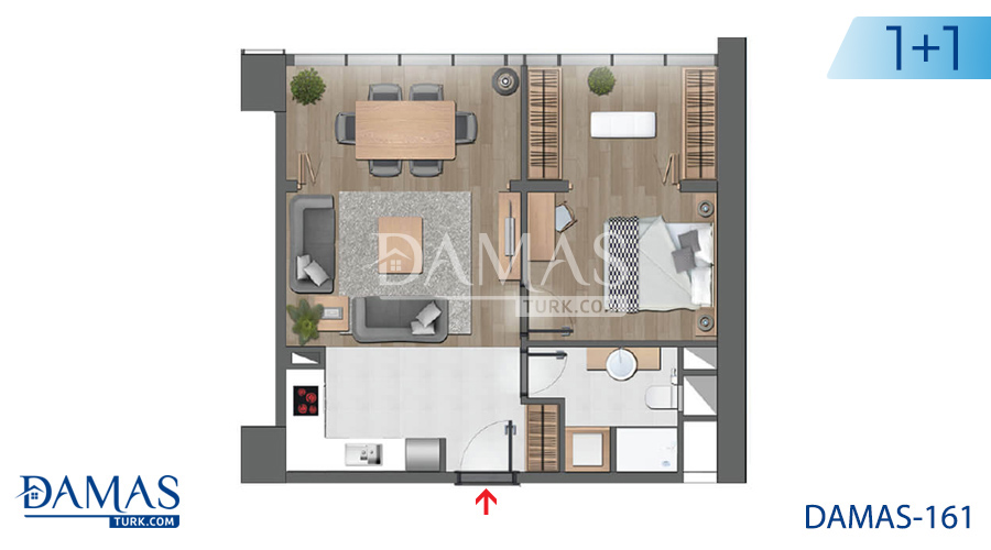 Damas Project D-161 in Istanbul - Floor plan picture 01
