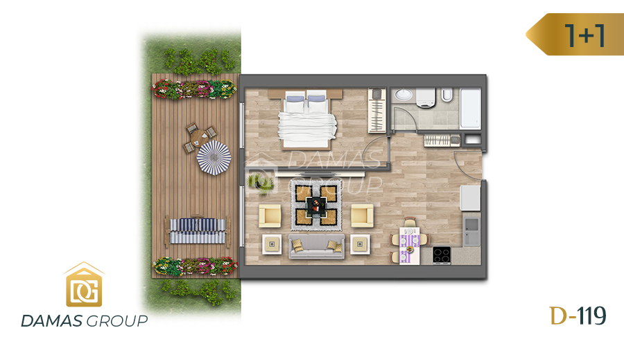 Damas Project D-119 in Istanbul - Floor Plan 01