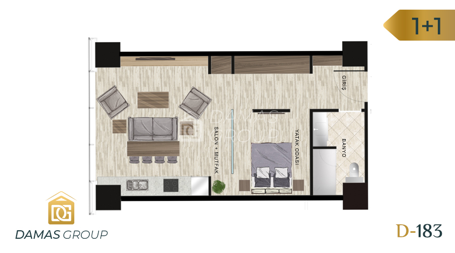Damas Project D-183 in Istanbul - Floor Plan 03