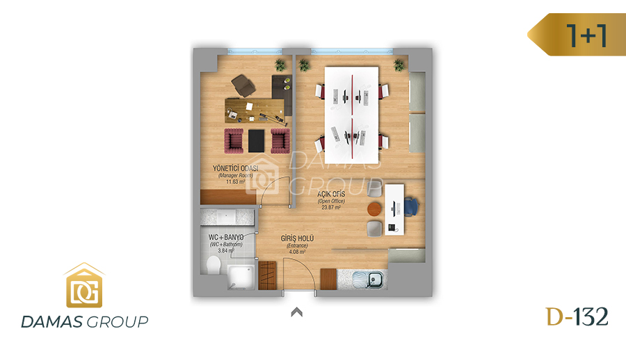 Damas Project D-132 in Istanbul - Floor Plan 02