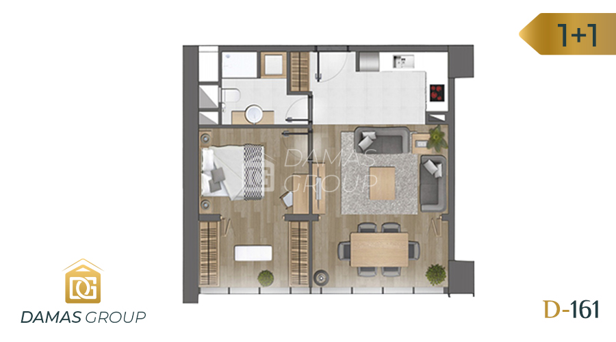 Damas Project D-161 in Istanbul - Floor Plan 02