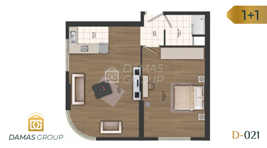 Damas Project D-021 in Istanbul - Floor Plan 02