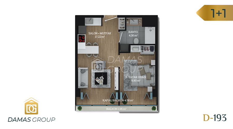 Damas Project D-193 in Istanbul - Floor Plan 03