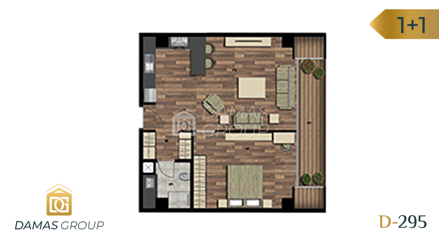 Damas Project D-295 in Istanbul - Floor Plan 02