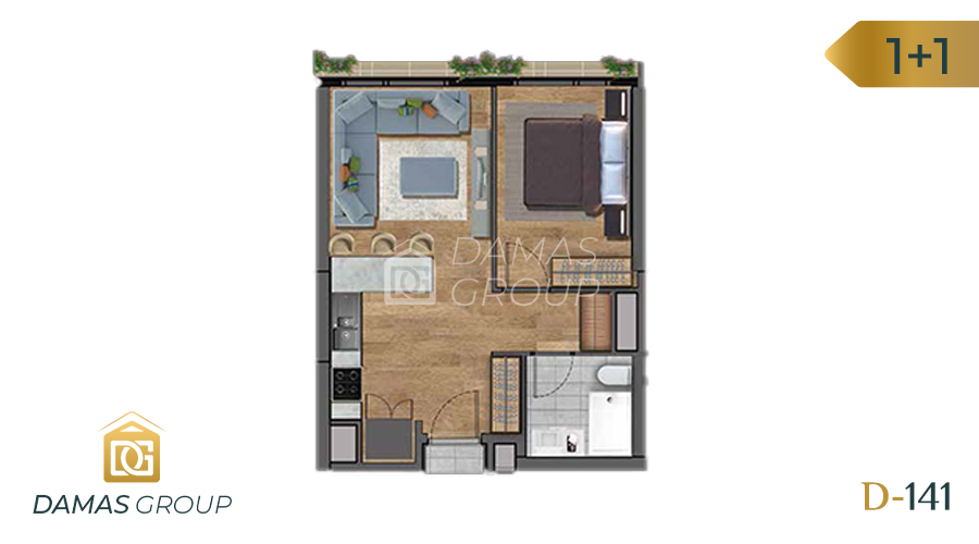 Damas Project D-141 in Istanbul - Floor Plan 01