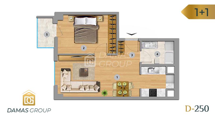 Damas Project D-250 in Istanbul - Floor Plan 02
