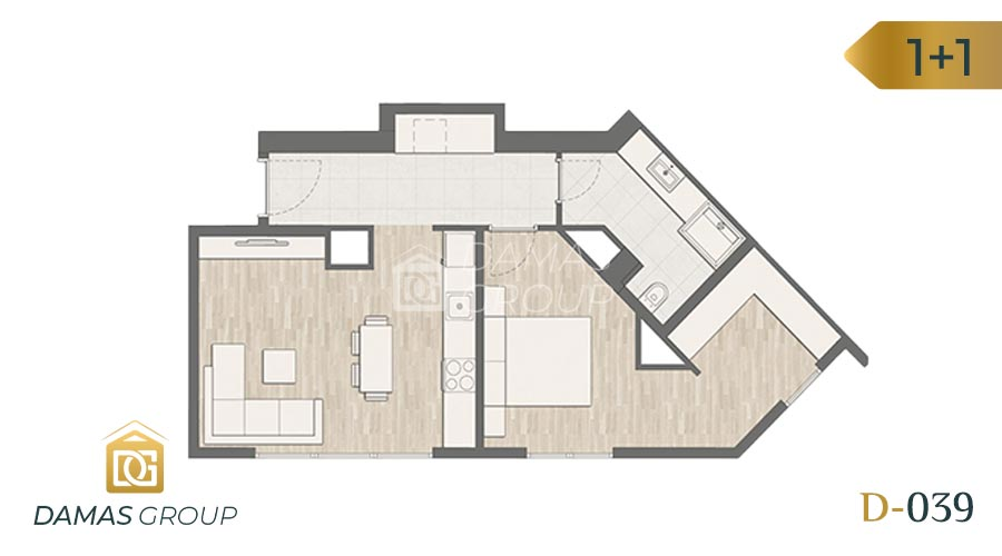 Damas Project D-039 in Istanbul - Floor Plan 02