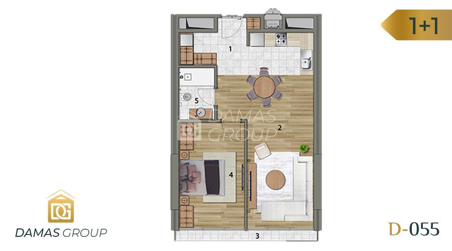 Damas Project D-055 in Istanbul - Floor Plan 02