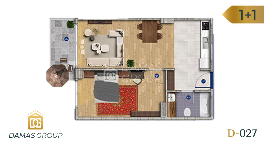 Damas Project D-027 in Istanbul - Floor Plan 02