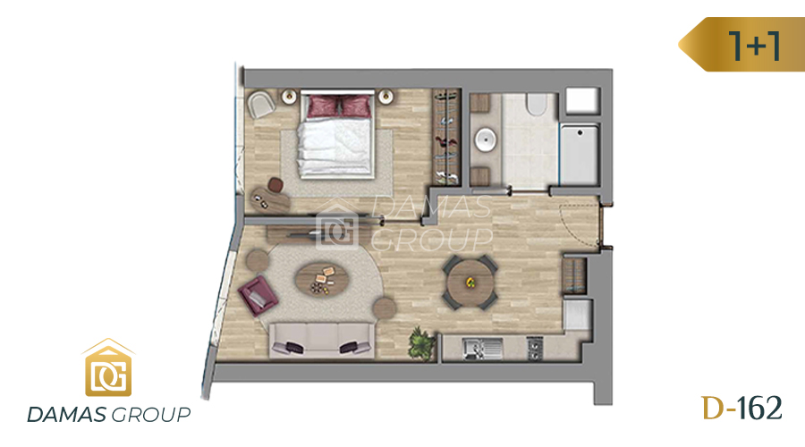 Damas Project D-162 in Istanbul - Floor Plan 02