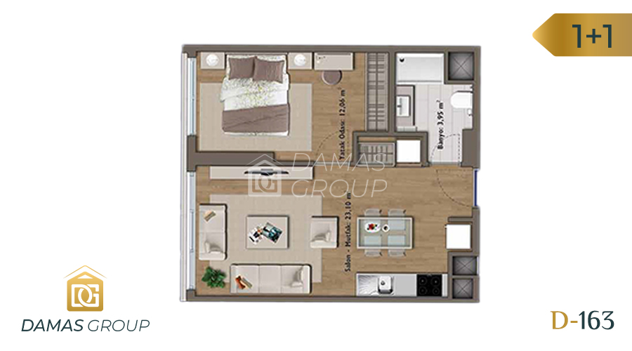 Damas Project D-163 in Istanbul - Floor Plan 02