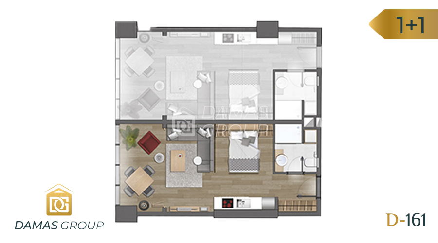 Damas Project D-161 in Istanbul - Floor Plan 03
