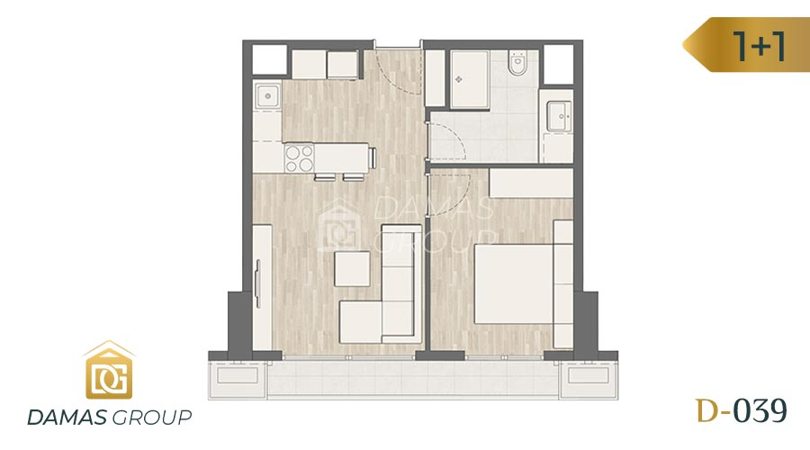 Damas Project D-039 in Istanbul - Floor Plan 03
