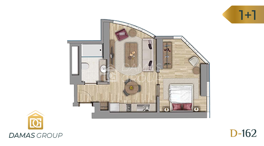 Damas Project D-162 in Istanbul - Floor Plan 03