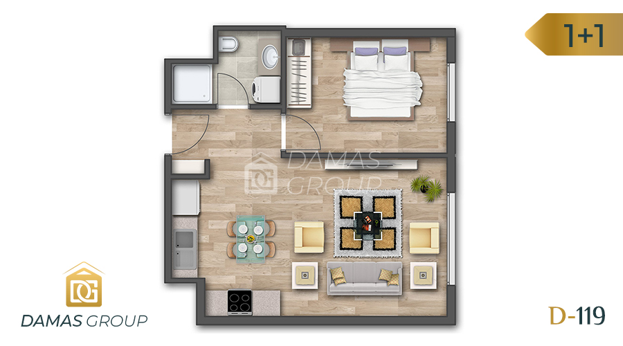 Damas Project D-119 in Istanbul - Floor Plan 02