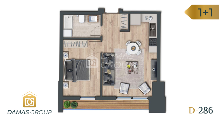 Damas Project D-286 in Istanbul - Floor Plan 01