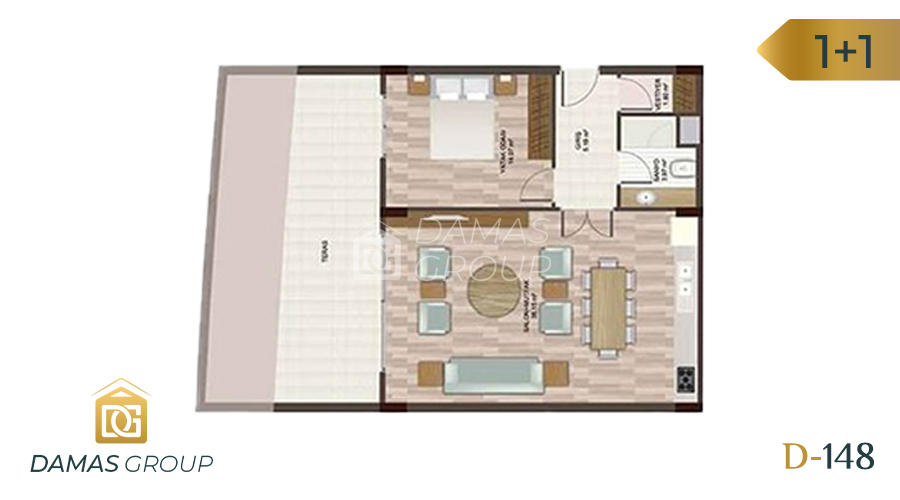 Damas Project D-148 in Istanbul - Floor Plan 01