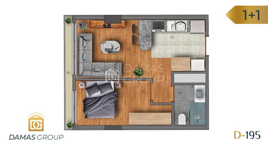 Damas Project D-195 in Istanbul - Floor Plan 01