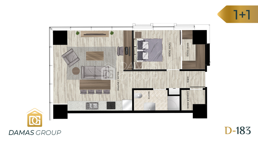 Damas Project D-183 in Istanbul - Floor Plan 02
