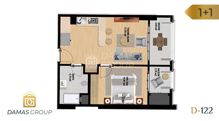 Damas Project D-122 in Istanbul - Floor Plan 01