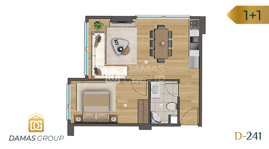 Damas Project D-241 in Istanbul - Floor Plan 01