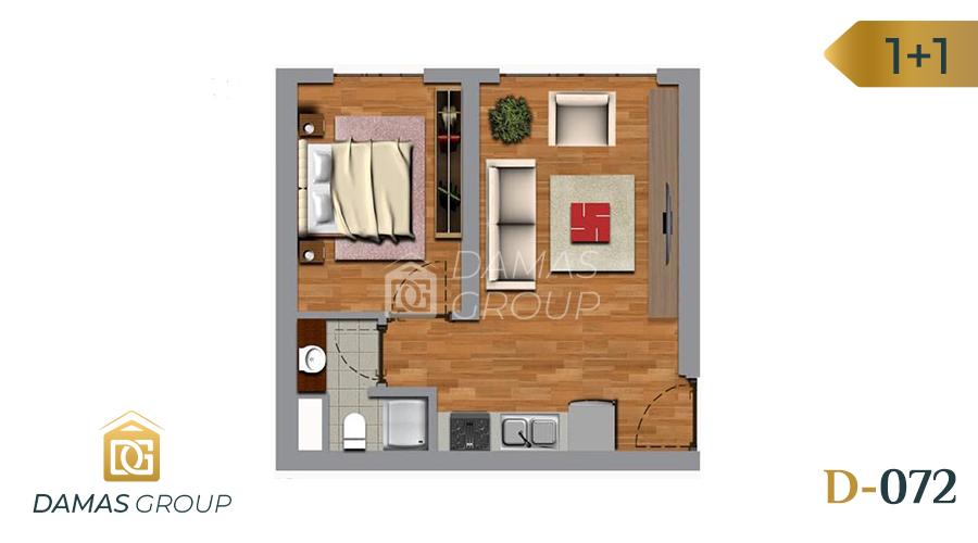 Damas Project D-072 in Istanbul - Floor Plan 01