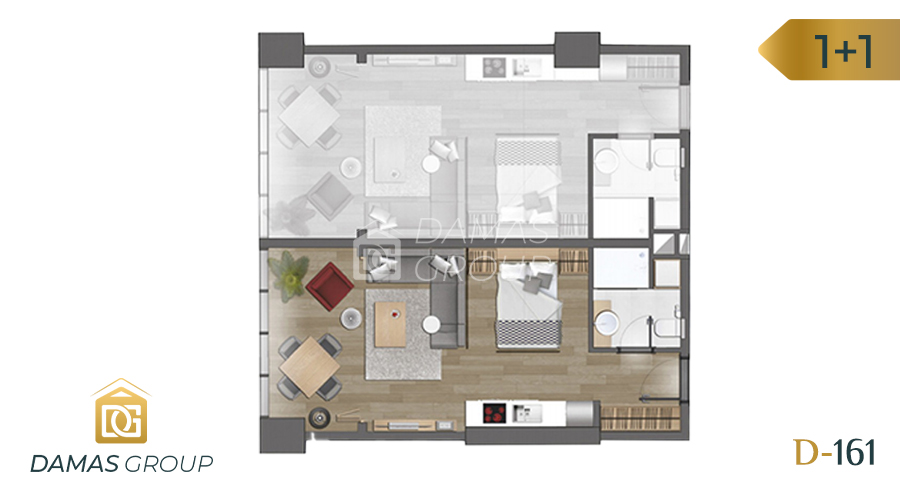 Damas Project D-161 in Istanbul - Floor Plan 01