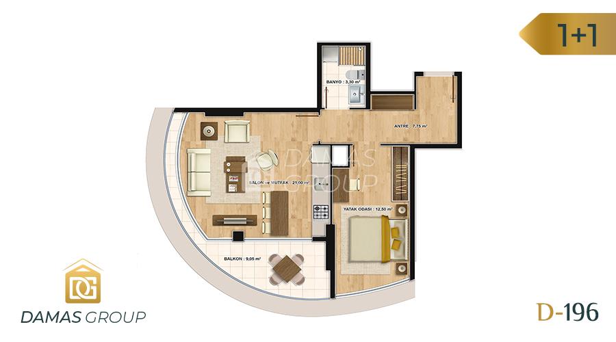 Damas Project D-196 in Istanbul - Floor Plan 02