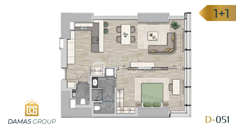 Damas Project D-051 in Istanbul - Floor Plan 01