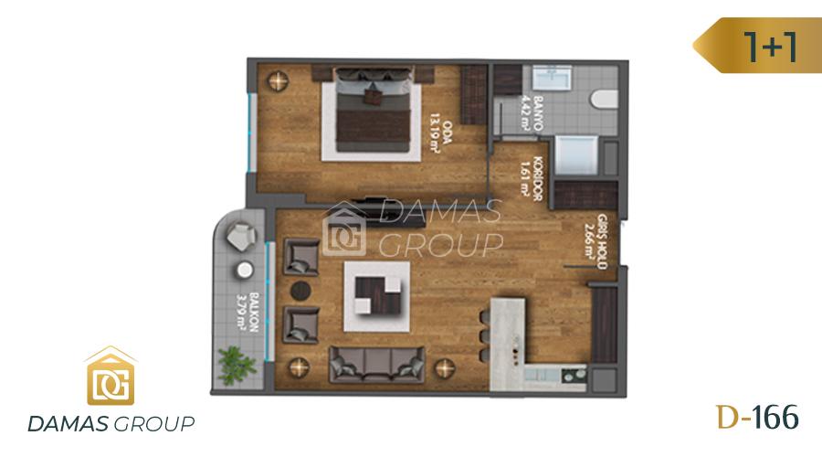 Damas Project D-1661 in Istanbul - Floor Plan 01