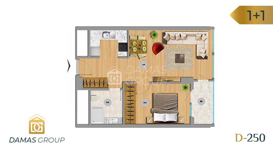 Damas Project D-250 in Istanbul - Floor Plan 01