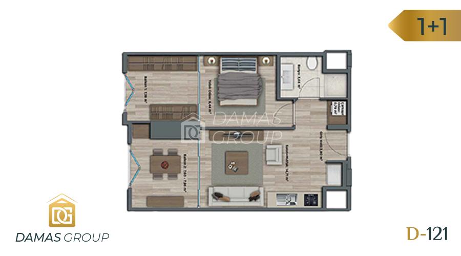 Damas Project D-121 in Istanbul - Floor Plan 01