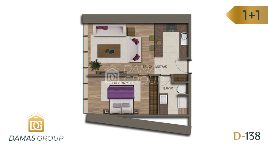 Damas Project D-138 in Istanbul - Floor Plan 02