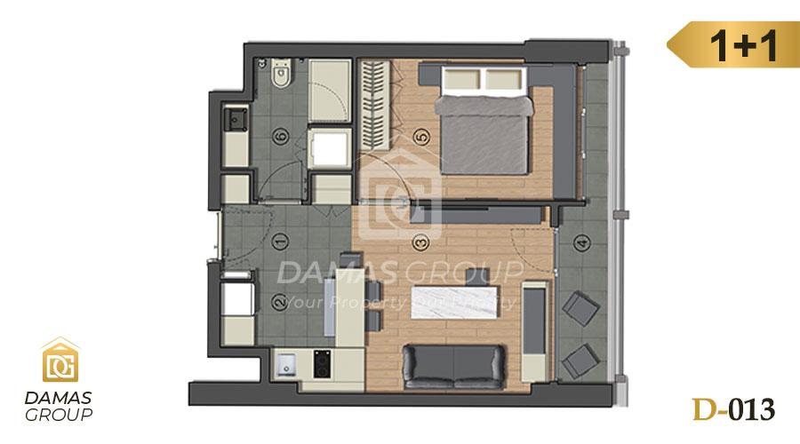 Damas Project D-013 in Istanbul - Floor Plan 02
