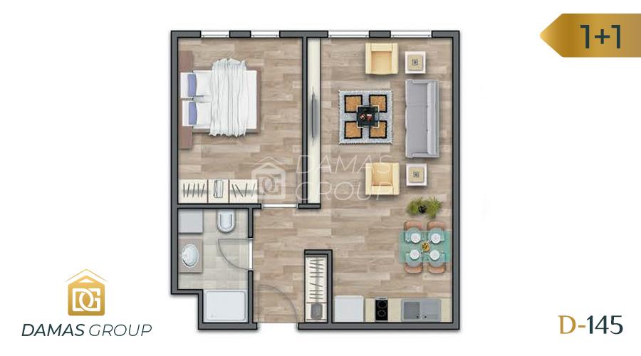 Damas Project D-145 in Istanbul - Floor Plan 02