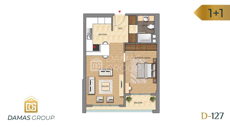 Damas Project D-127 in Istanbul - Floor Plan 01