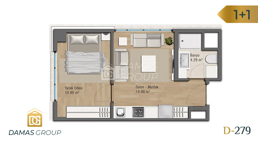 Damas Project D-279 in Istanbul - Floor Plan 02