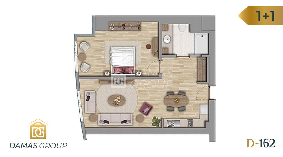 Damas Project D-162 in Istanbul - Floor Plan 01