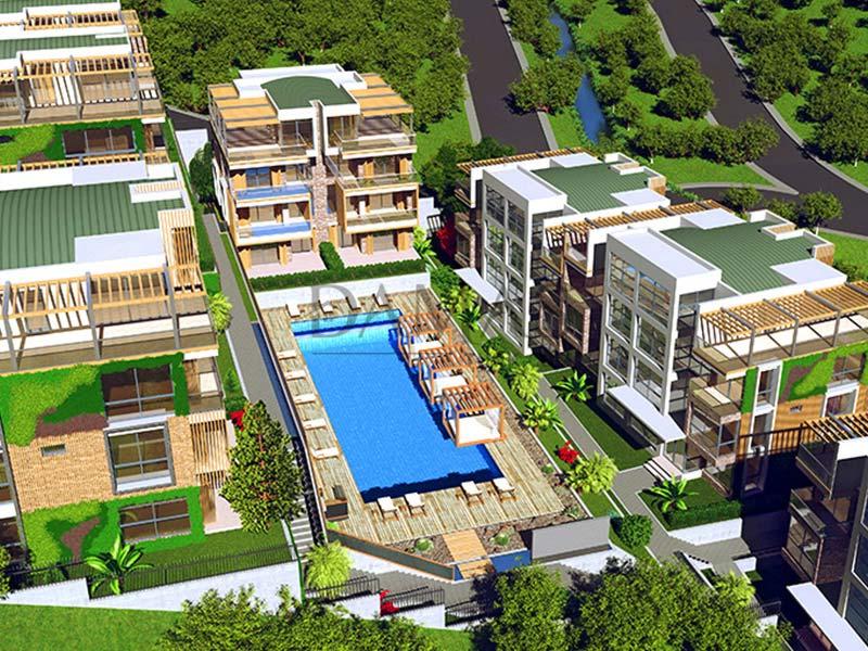 عقارات للبيع في بورصة - مجمع مجموعة داماس 203 في بورصة - صورة خارجية 01