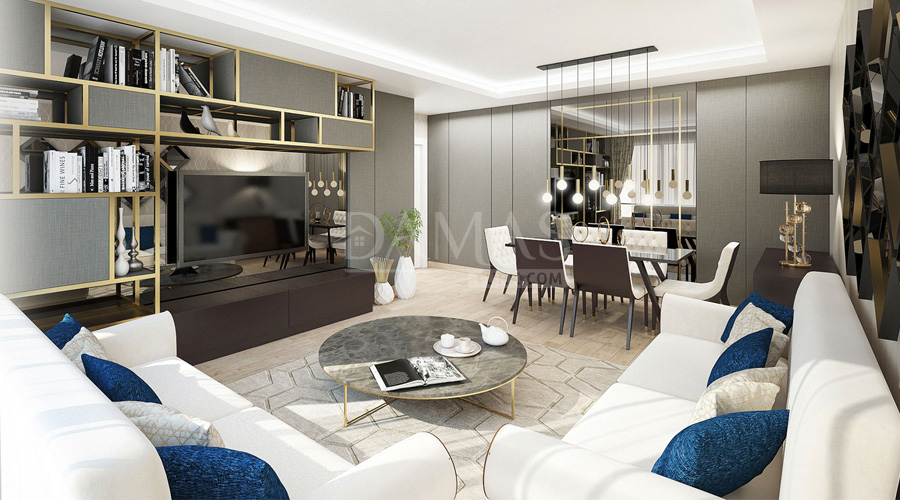 Damas Project D-195 in Istanbul - interior picture  01
