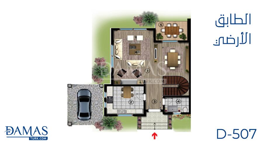 Damas Project D-507 in kocaeli - Floor plan picture 01
